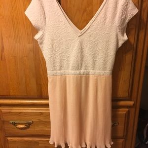 UO Pins & Needles Dress Large